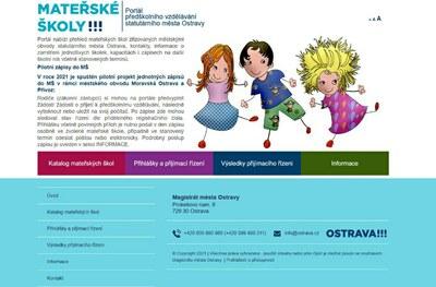 Nový portál předškolního vzdělávání