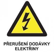 Odstávka elektřiny od ČEZ ve dnech 11. a 12.5. 2021