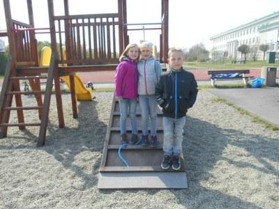 Otevření hřiště u základní školy