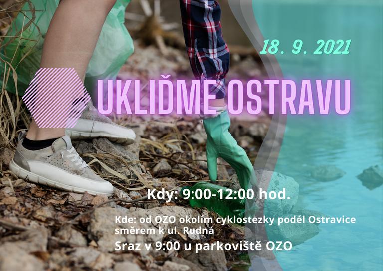 Přijďte nám pomoci zkrášlit cyklostezku kolem Ostravice
