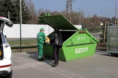 Přistavení kontejnérů na velkoobjemový a nebezpečný odpad