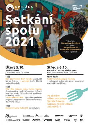 Setkání spolu 2021 - Spirála Ostrava