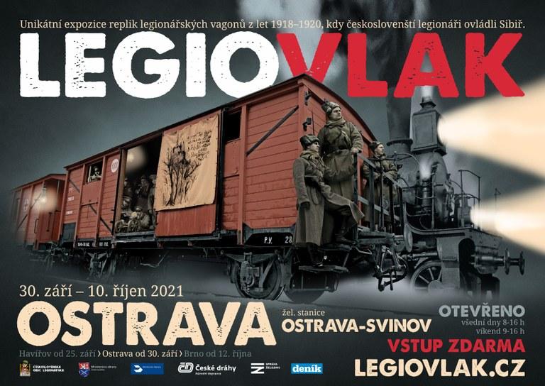 Unikátní expozice replik legionářských vagónů z let 1918-1920