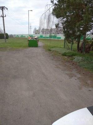 Změna v přistavení kontejneru na velkoobjemový  a nebezpečný odpad